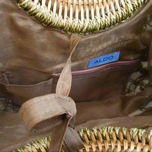 Aldo Bags - Aldo Crochet Bamboo Handle Bag